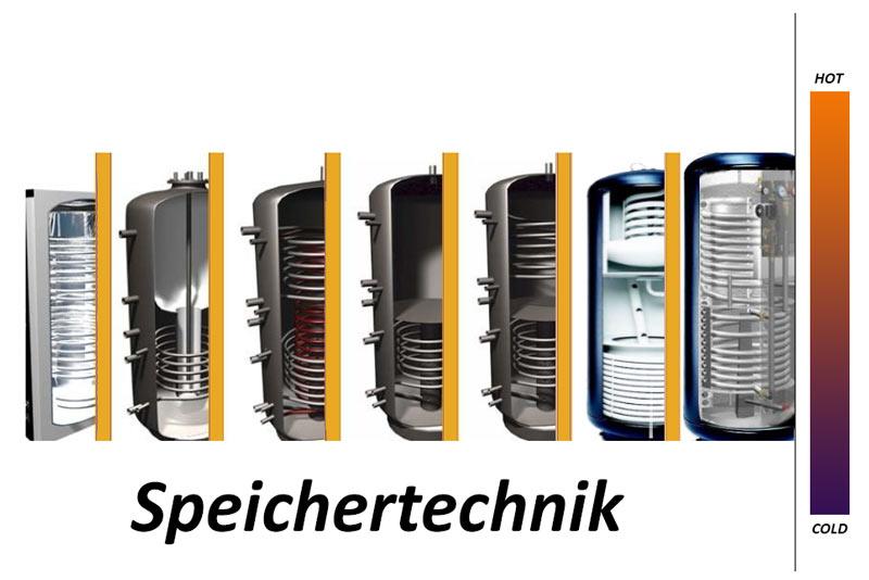 Speichertechnik - Wärmespeicher